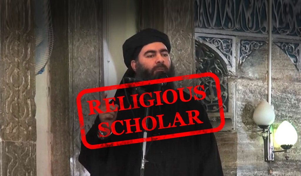 ISIS Terror leader Abu Bakr al-Baghdadi. The Washington Post labeled him a 'religious scholar.' (Photo: Clarion Project)
