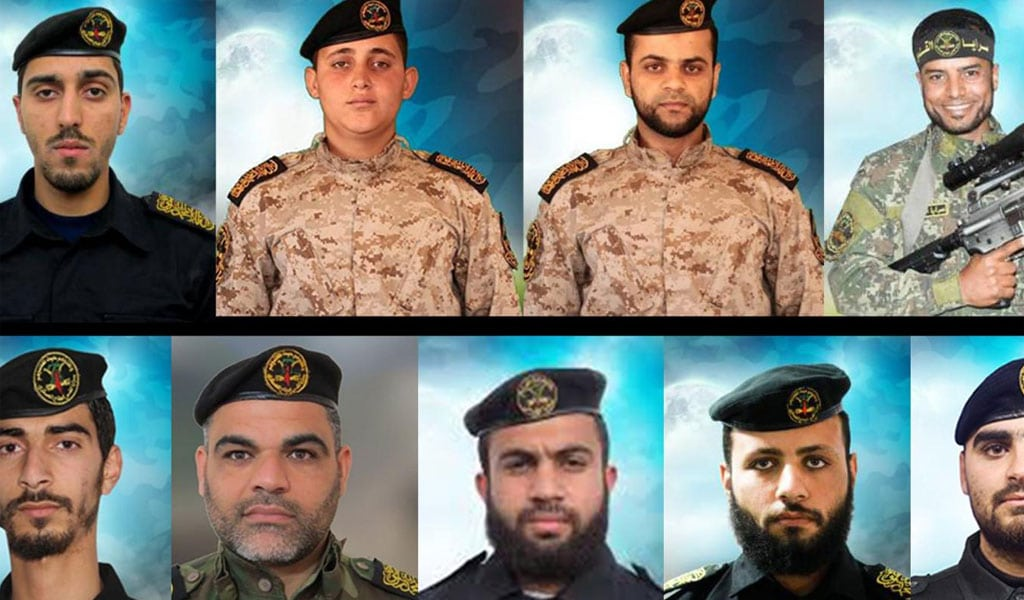 Some of the Palestinian Islamic Jihad terrorists killed by Israel (Photo: IDF)