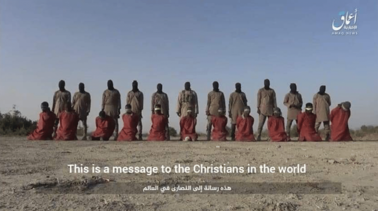 ISIS slaughtered these 11 Nigerian Christians on Christmas Day (Photo: ISIS video)