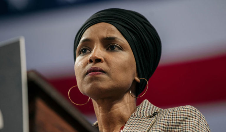 Where do the attacks on Ilhan Omar come from? (Photo: Scott Heins/Getty Images)