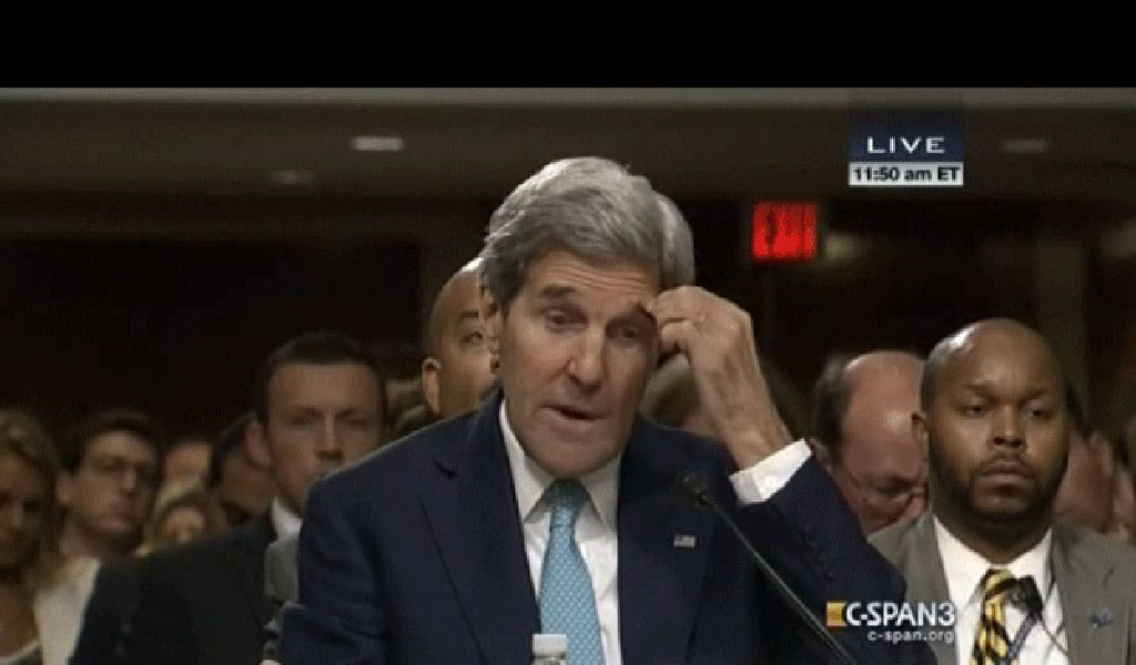 Former Secretary of State John Kerry (Photo: video screenshot)