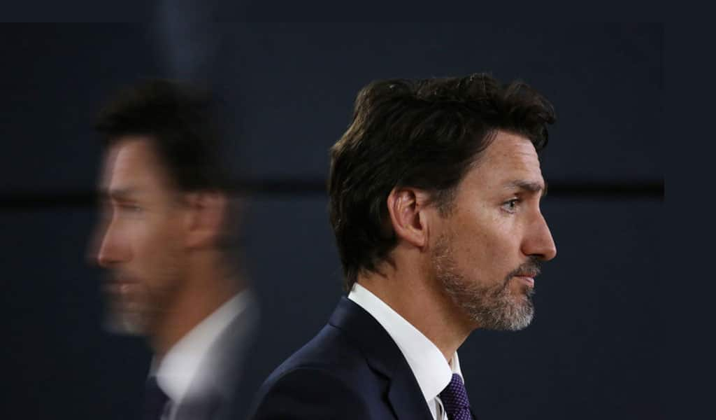 PM Justin Trudeau of Canada is pushing what amounts to a totalitarian agenda on the country (Photo: DAVE CHAN/AFP via Getty Images)