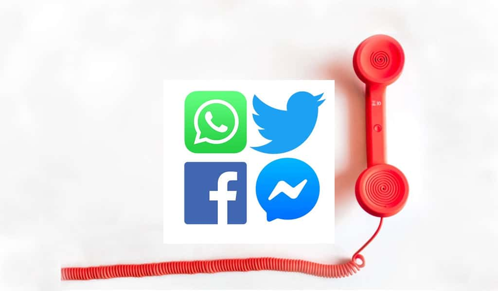 Messaging apps like WhatsApp, Facebook, Twitter and Messenger are all currently encrypted (Image: Clarion Project)