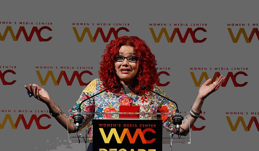 Mona Eltahawy speaks at the Women's Media Center 2015 Women's Media Awards. Eltahawy was an honoree at the event (Photo: Brian Ach/Getty Images)