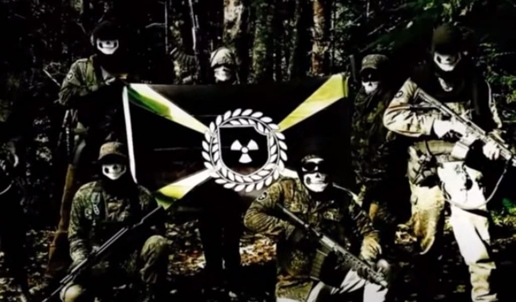 Image from an Atomwaffen propaganda video (Photo: Screenshot)
