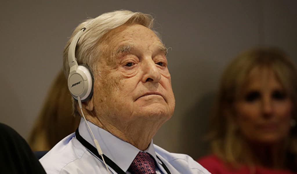 George Soros (Photo: Peter Foley - Pool/Getty Images)