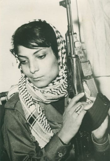 The iconic picture of Leila Khaled seen across the world