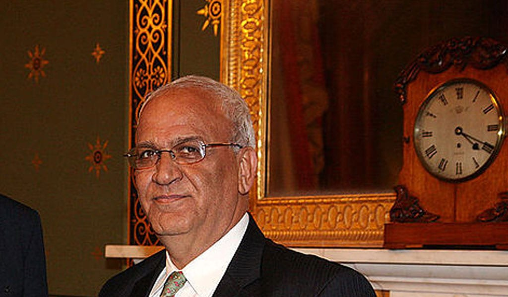 Saed Erakat (Photo: Flickr/UK Foreign and Commonwealth Office)