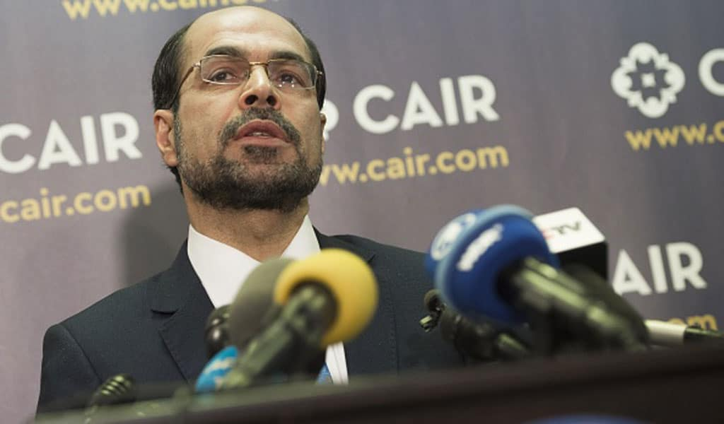 CAIR's founder and executive director Nihad Awad (Photo: SAUL LOEB/AFP/Getty Images)